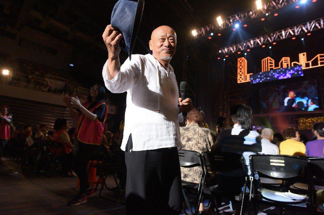 凌峯今出席「愛傳承關懷演唱會」。圖/台灣優質生命協會提供