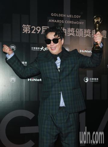 最佳台語男歌手蕭煌奇。