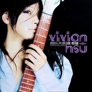 徐若瑄2000年發行的「假扮的天使」專輯封面。圖/摘自維基百科