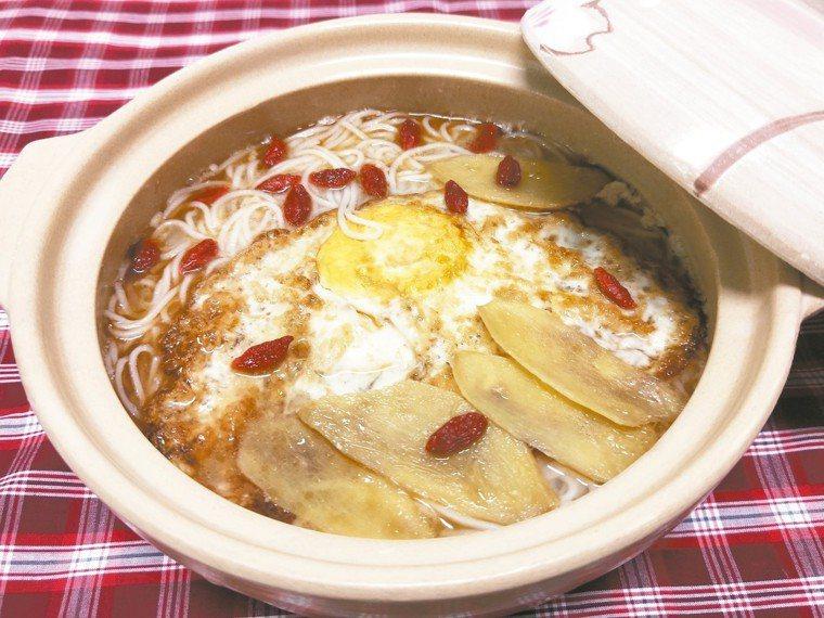 麻油麵線蛋