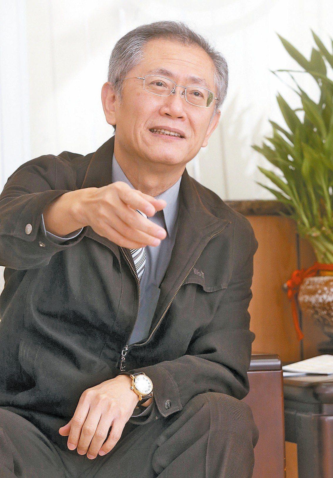 新世代金融基金會執行長蕭長瑞。 圖/聯合報系資料照片