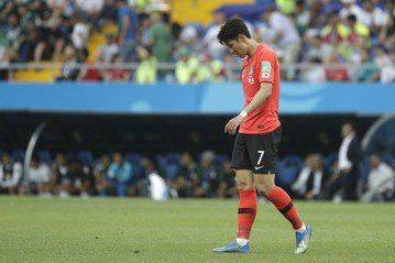 南韓晉級僅剩一絲希望 孫興慜賽後痛哭