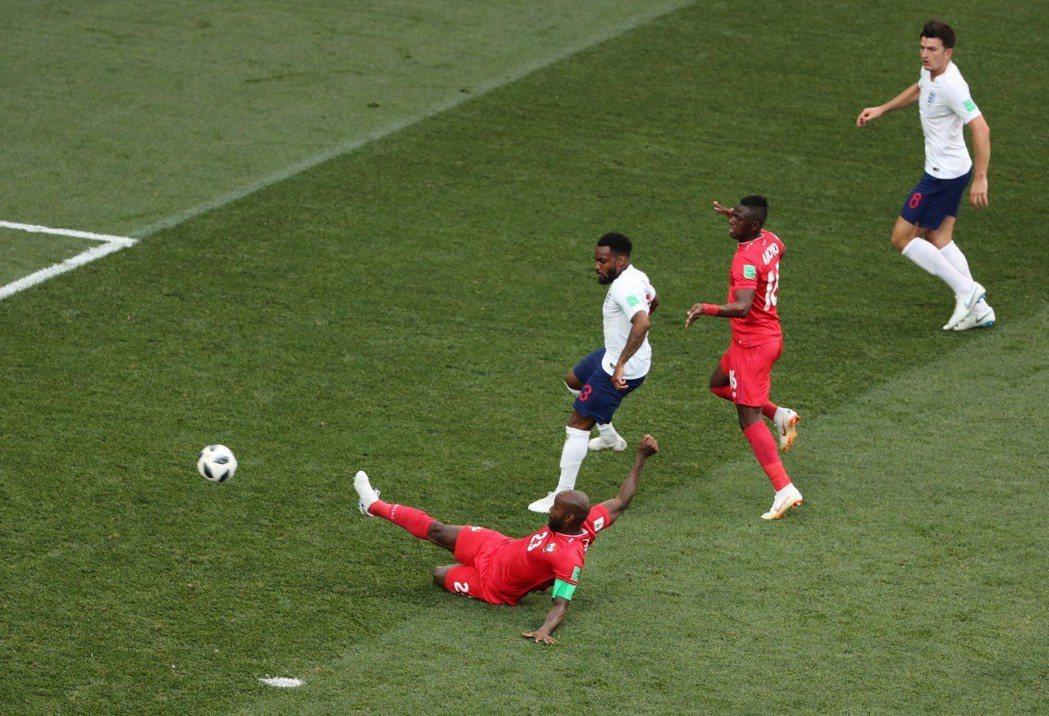 巴拿馬78分鐘射進隊史在世足賽歷史第一球。 路透