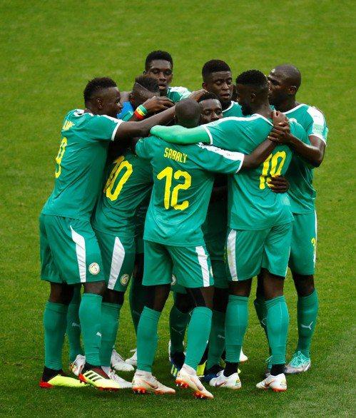 塞內加爾對日本,可望贏球。 美聯社