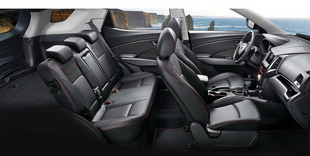 SsangYong XLV較TIVOLI長了238mm車身尺寸,後行李箱容量高達1,440公升。 圖/永嘉雙龍汽車提供