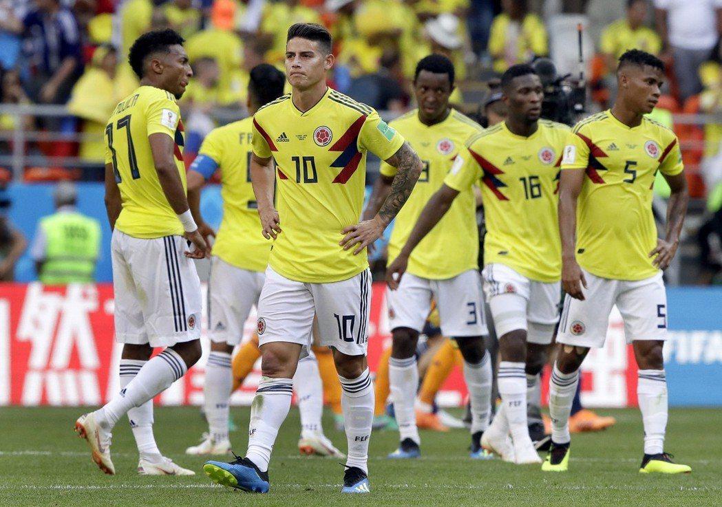 哥倫比亞隊。 美聯社
