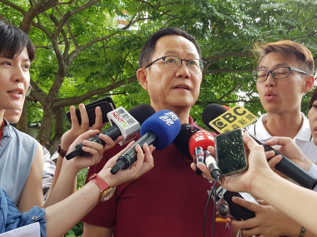 國民黨台北市長參選人丁守中。 圖/聯合報系資料照片