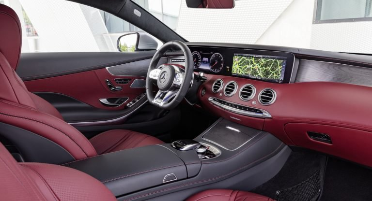 奢華的座艙,豐富的科技,這就是賓士。 摘自Mercedes
