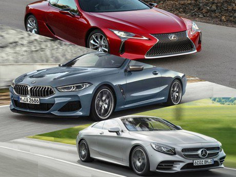 豪華跑車大車拼 BMW 8-Series vs Mercedes S-Class vs Lexus LC 你選哪一台?