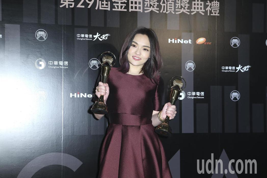 最佳國語專輯獎 徐佳瑩。記者陳立凱/攝影