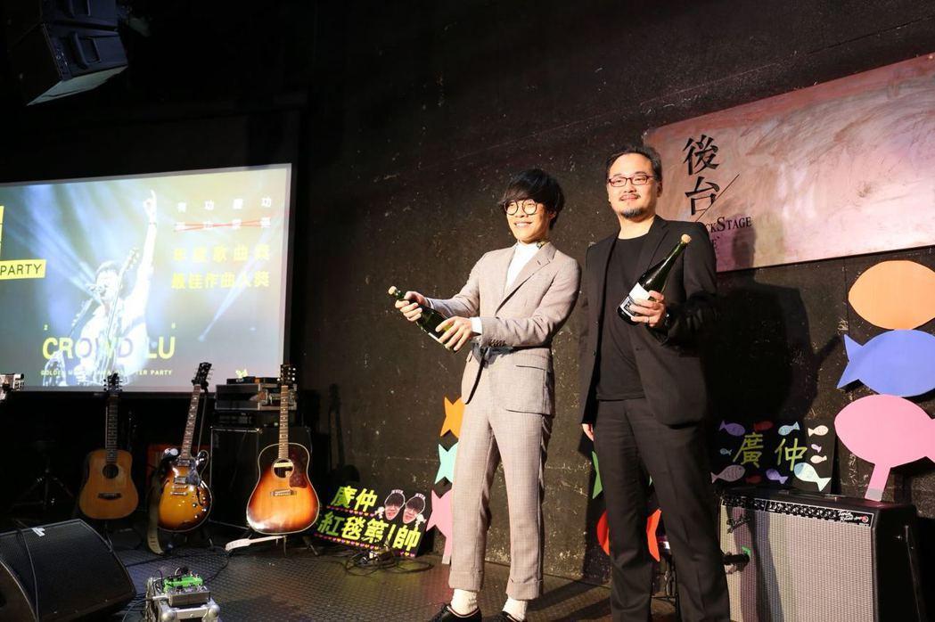 盧廣仲在本屆金曲獎以單曲「魚仔」奪兩獎。圖/添翼提供  ※ 提醒您:禁止酒駕...