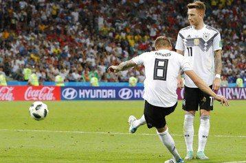 克魯斯補時絕殺 德國2:1險勝瑞典保生機