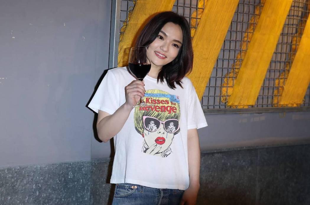 徐佳瑩是第29屆金曲歌后。記者黃保慧/攝影  ※ 提醒您:禁止酒駕 飲酒過量...