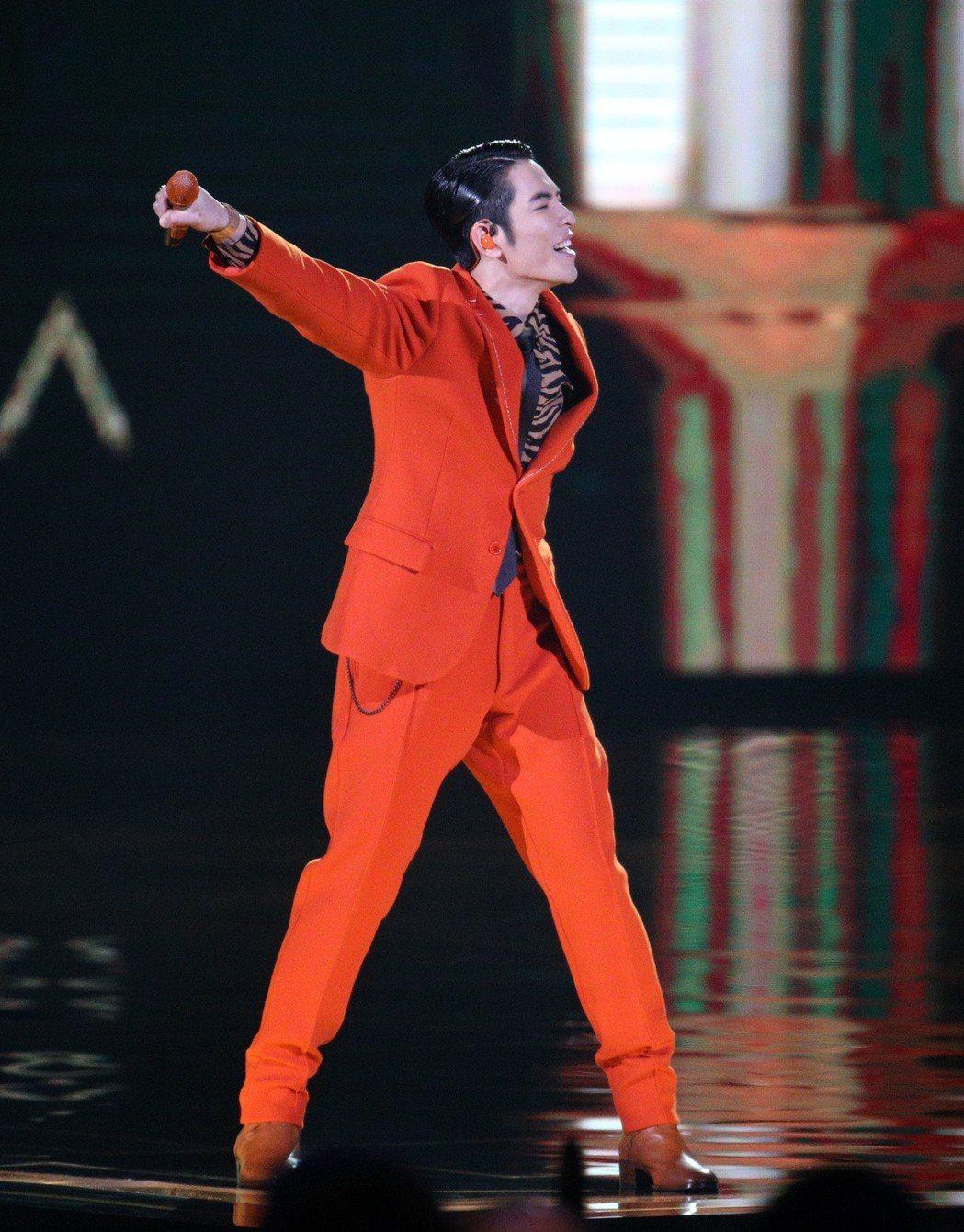 第29屆金曲獎主持人蕭敬騰。 本報資料照