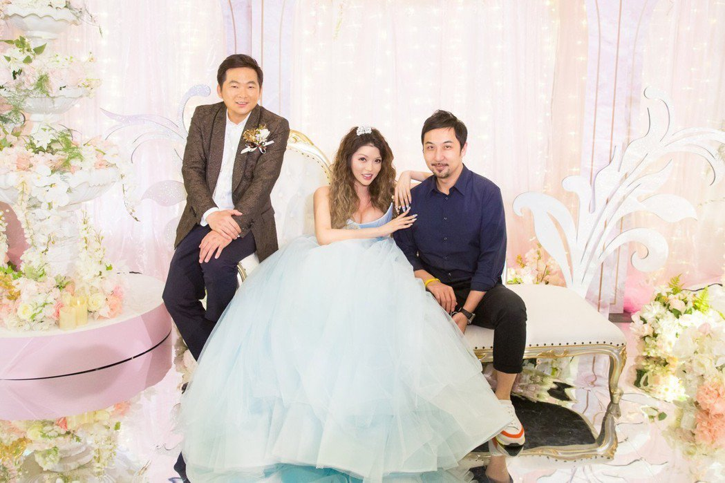 殷琦嫁10億身家老公張仕育,好友李進良也受邀出席喜宴。圖/伊林提供