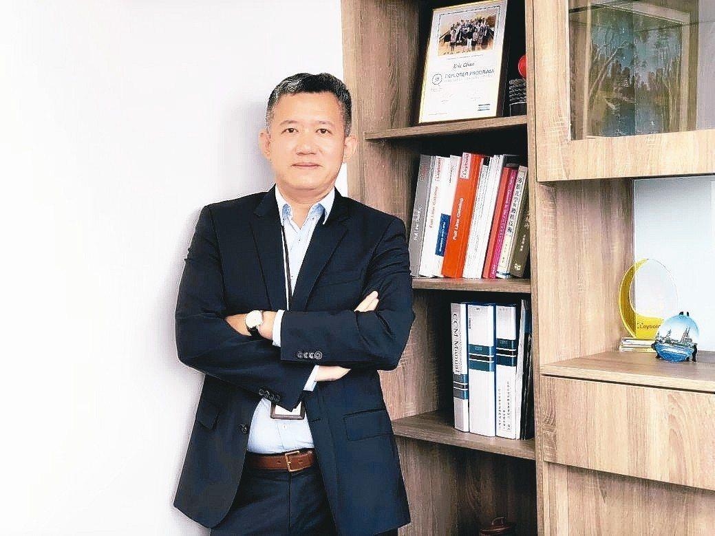 台灣萊寶總經理詹德信。 翁永全/攝影