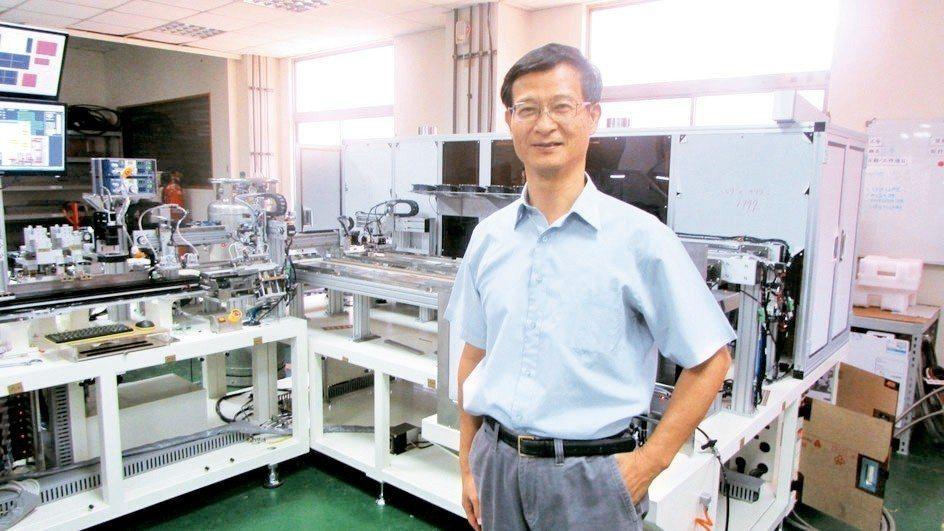 廣化科技董事長張維仲。 翁永全/攝影