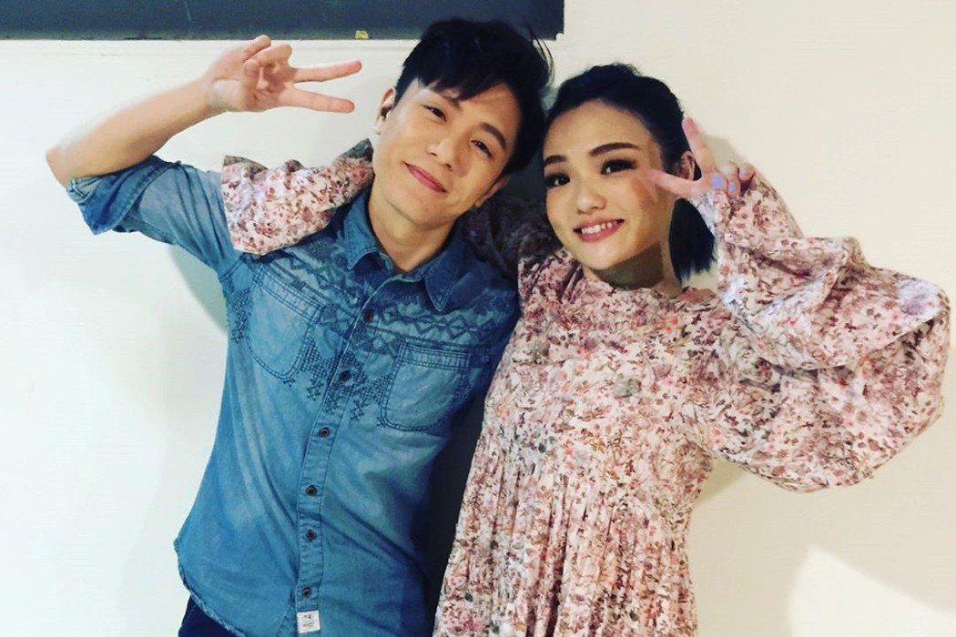 徐佳瑩與韋禮安是多年好友。圖/擷自IG。