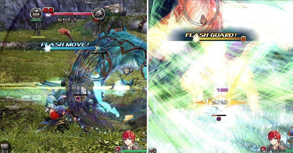 高速移動與高速防禦在本遊戲中佔有很重要的地位,由於敵人打你也是很痛,且會中斷攻勢...