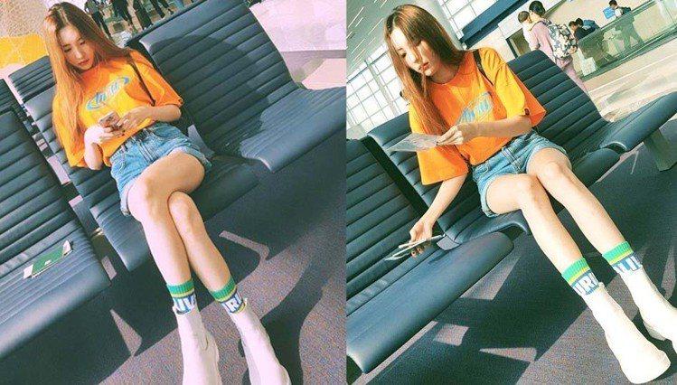 前Wonder Girls成員善美。圖/擷自instagram