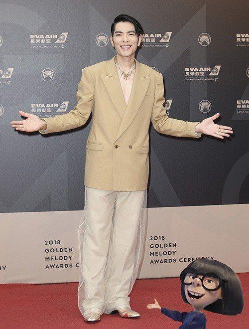 最大衛鮑伊 蕭敬騰 圖/聯合報系資料照