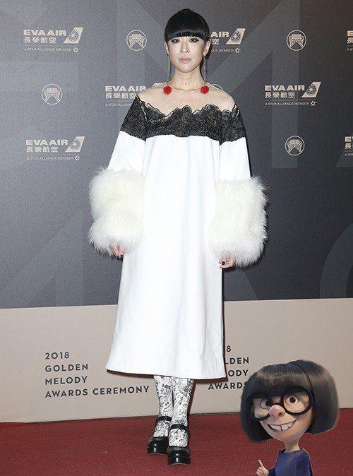 最有仙氣 陳珊妮 圖/聯合報系資料照