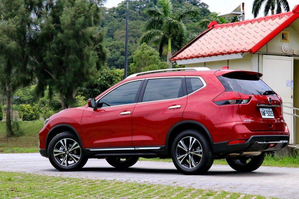 X-Trail是2017年全球SUV銷售冠軍。 記者陳威任/攝影