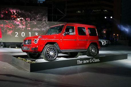 賓士休旅層峰之選!小改款G-Class漲幅超過100萬登台發表