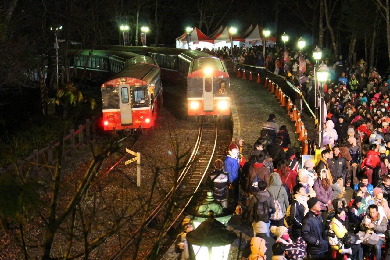 阿里山森林鐵路復駛在即。圖/台鐵局提供