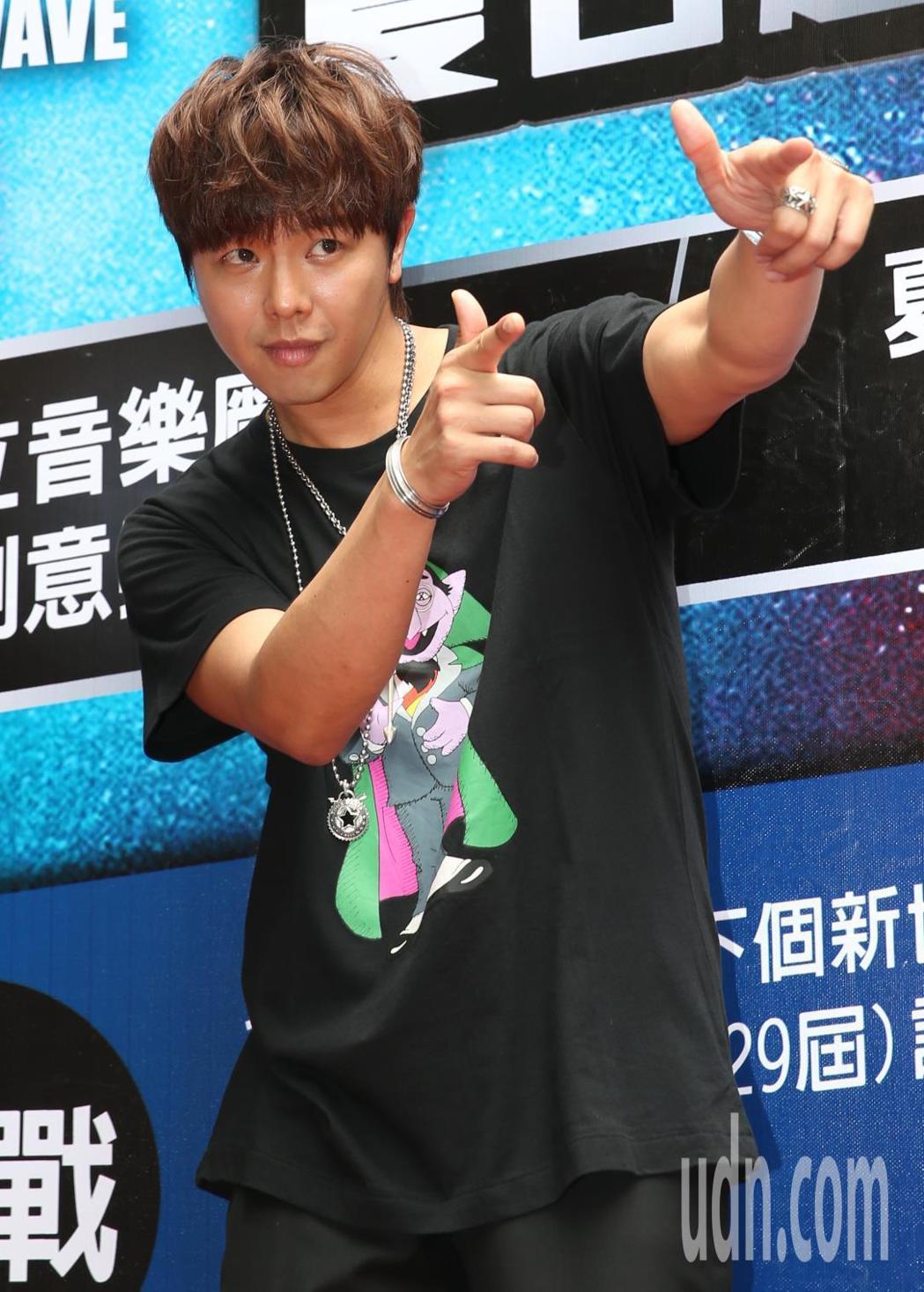 小鬼將在「2018音浪競演舞台-夏日超級新人徵選賽」中表演。記者侯永全/攝影