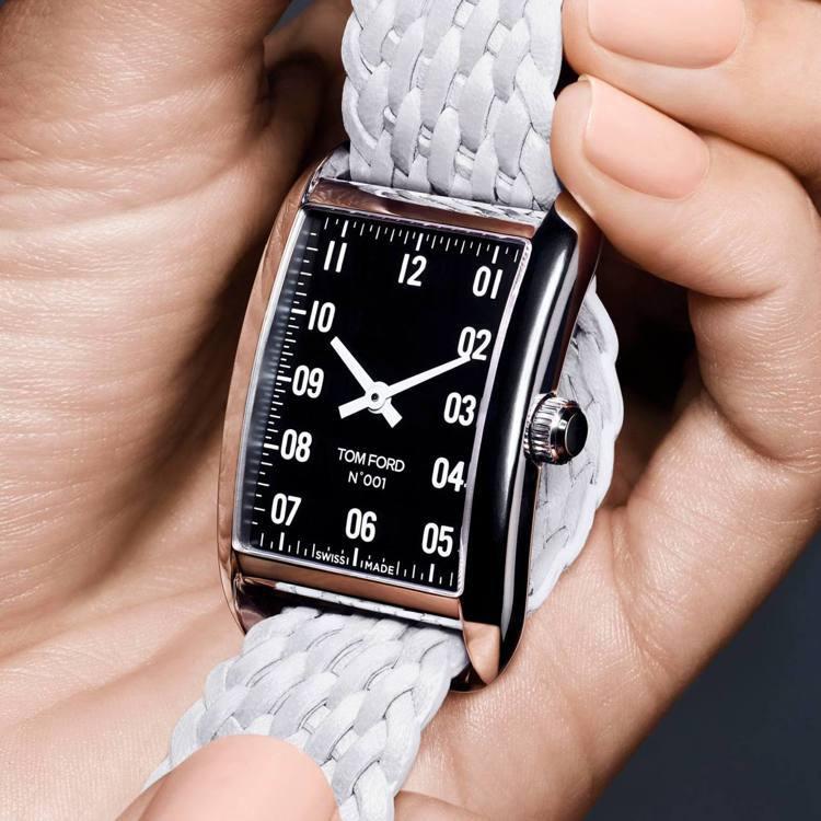 Tom Ford把他的時尚版圖,擴及到鐘表業,推出品牌首款腕表。圖/摘自Tom ...