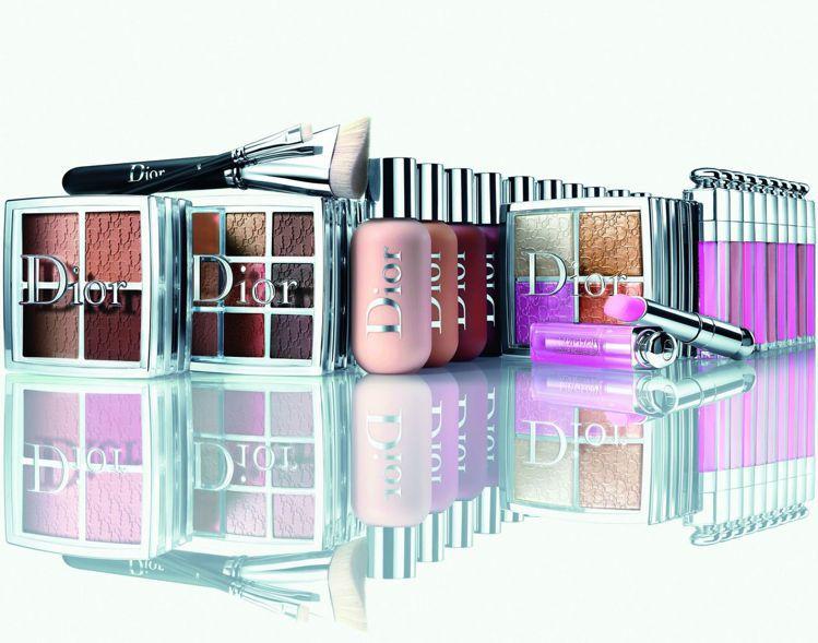 迪奧專業後台彩妝系列在台上市,一次推出迪奧雙用水粉底21款色選,5種彩盤,以及1...
