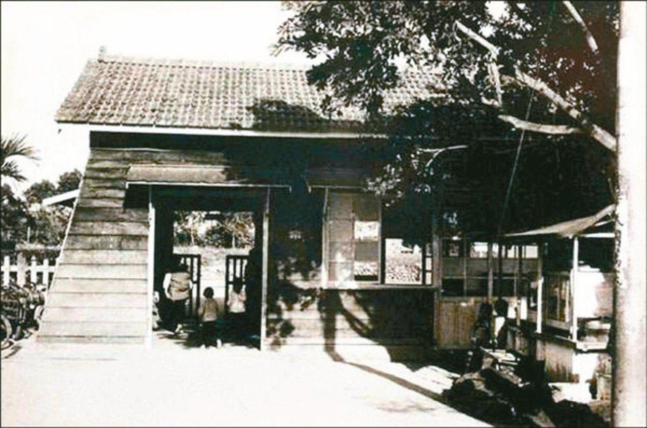 鳳林林榮舊車站因台東線拓寬改線而廢站。 圖/鐵工局提供
