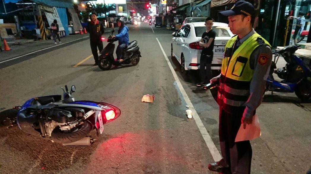 若是發生車禍,一定要盡可能蒐集對自己有利的證據。 圖/台中市警局提供