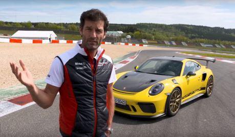 (影音)Mark Webber開著Porsche 911 GT3 RS帶你上紐伯林南賽道!