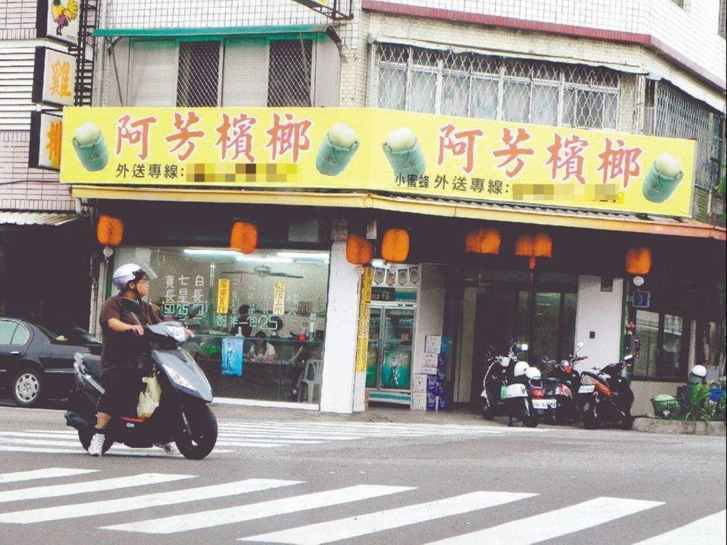 檳榔攤取名,著重在好記。 本報資料照片/記者羅紹平攝影