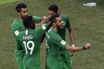 沙烏地阿拉伯逆轉埃及 摘24年來世界盃首勝
