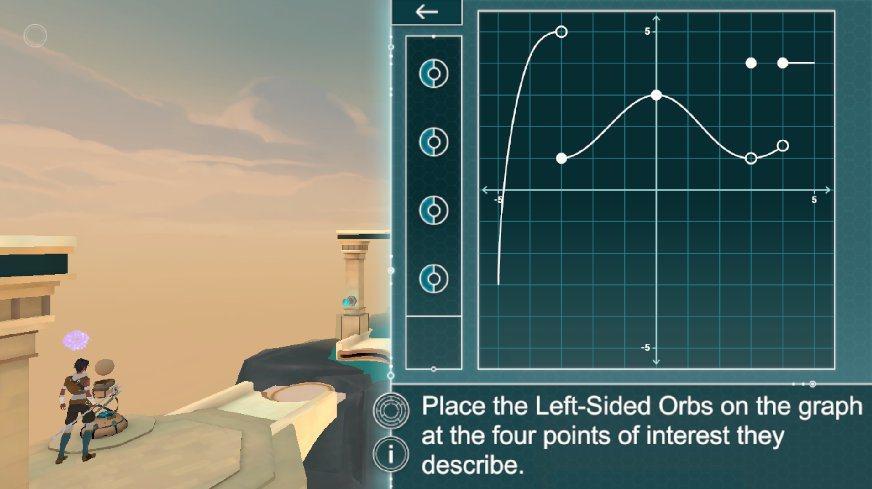 各式函數、象線等問題等著玩家解答。