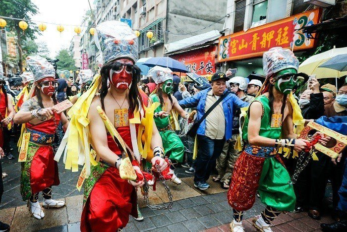 台灣特有的八家將文化(示意圖,非當事人) 圖片來源/聯合報系