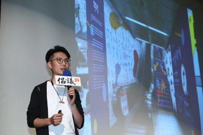 葉文宏讓其他設計師與憨兒共同創作,轉化為作品,因為「單純的線條,最能打動人心」。...