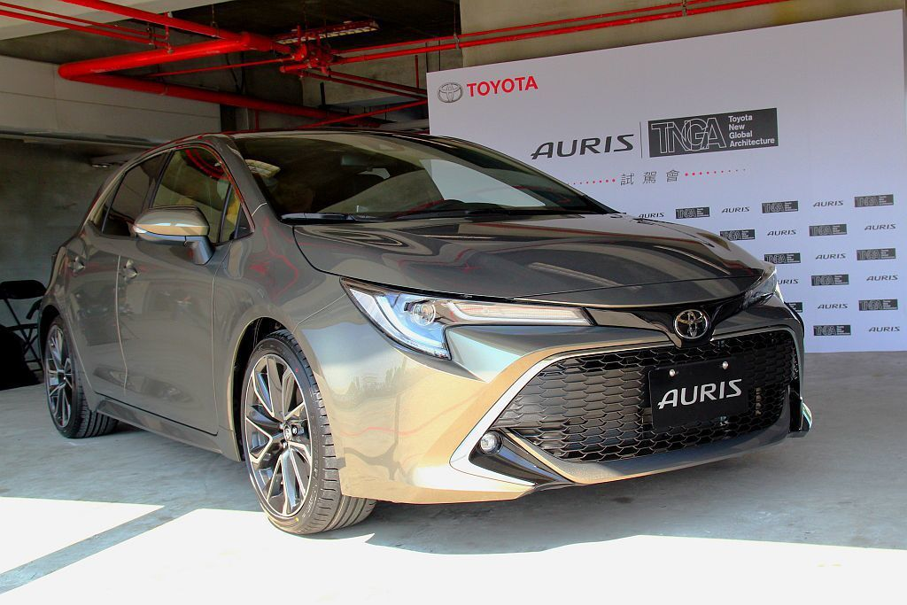 新Toyota Auris確認在9月上旬在台發表,同時售價也會壓在台幣93萬以下...