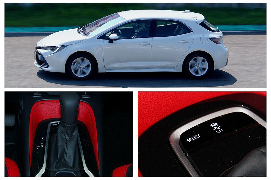 傳輸效率更優異的Direct Shift-CVT變速系統,加入傳統齒輪設計後,大幅改善CVT起步軟弱的特性,同時新Toyota Auris更將Sport模式列為標準配備。 記者張振群/攝影