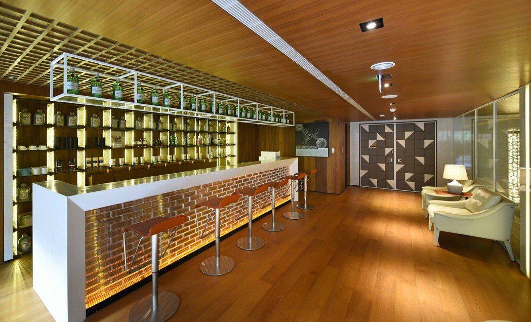 「慶旺DC」lounge咖啡吧實景。 圖片提供/慶旺建設