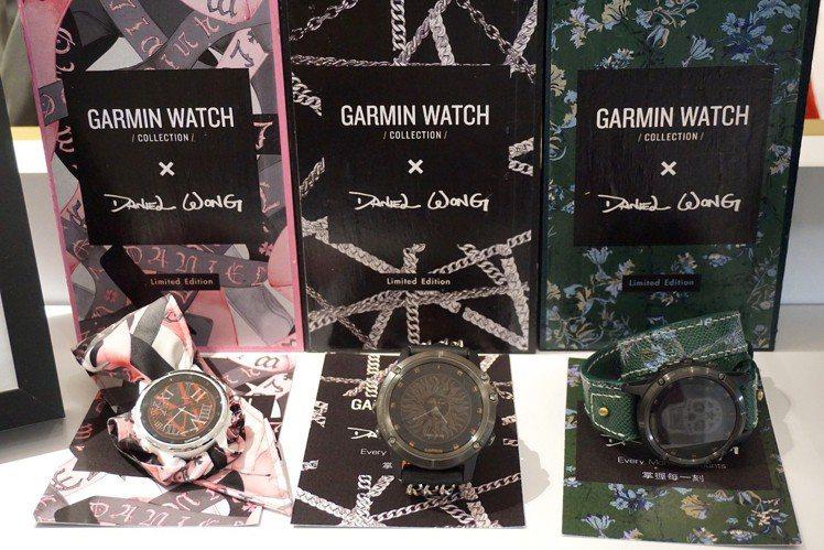 Garmin × Daniel Wong獨家限量錶帶,三種款式風格各具衝突美感。...
