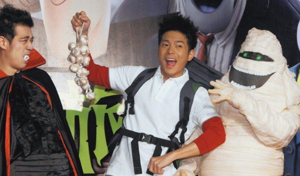 「尖叫旅社」系列之前的中文版配音主角是宥勝。圖/報系資料照片