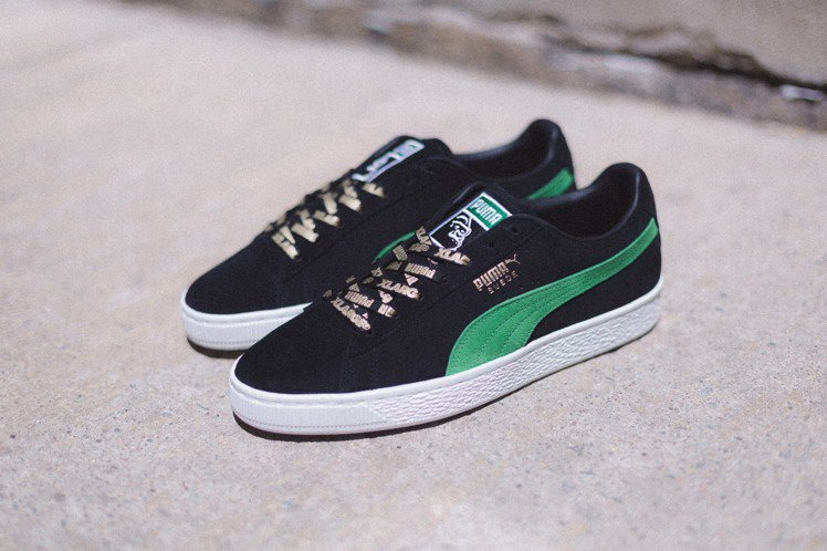 Puma聯名XLARGE系列Suede 50紀念限定鞋款,約3,980元。圖/P...