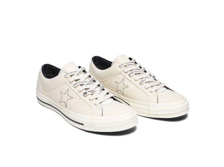 Converse聯名Midnight Studios系列One Star鞋,約3...