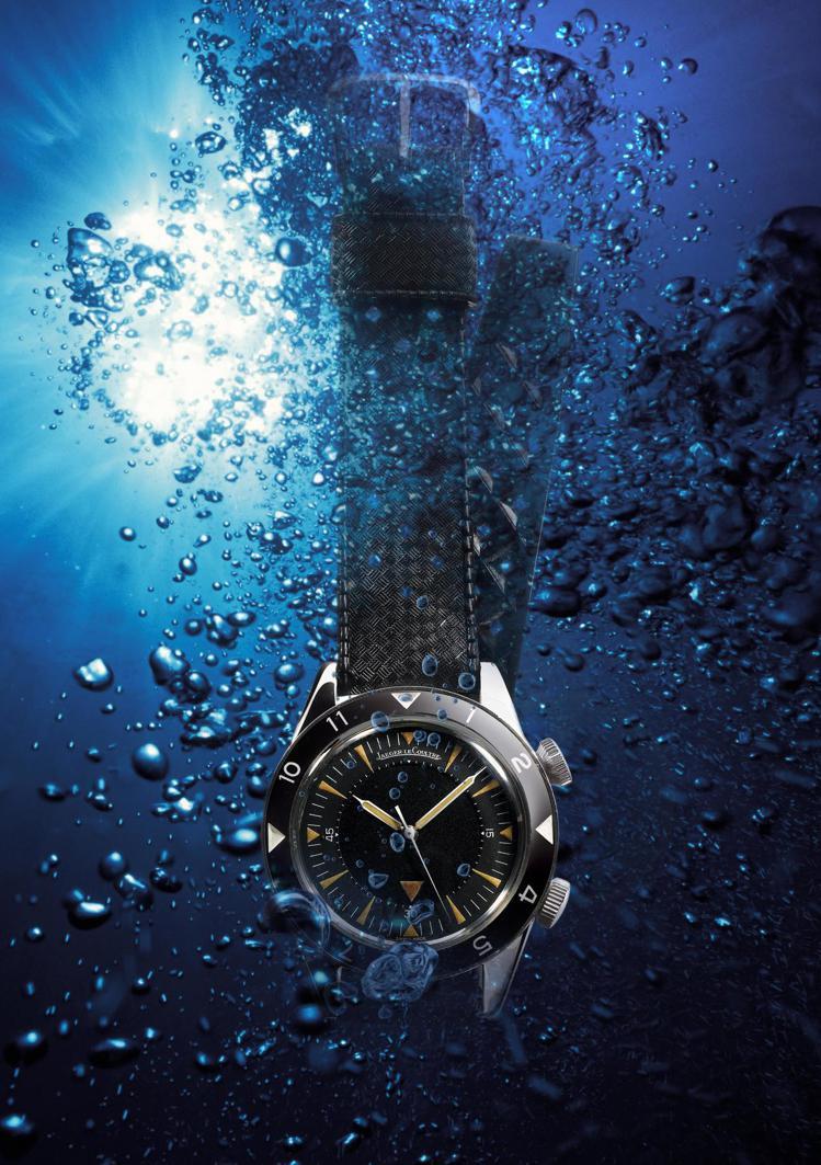展出作品中亦有1959年Memovox Deep Sea腕表,是張孝全收藏的19...