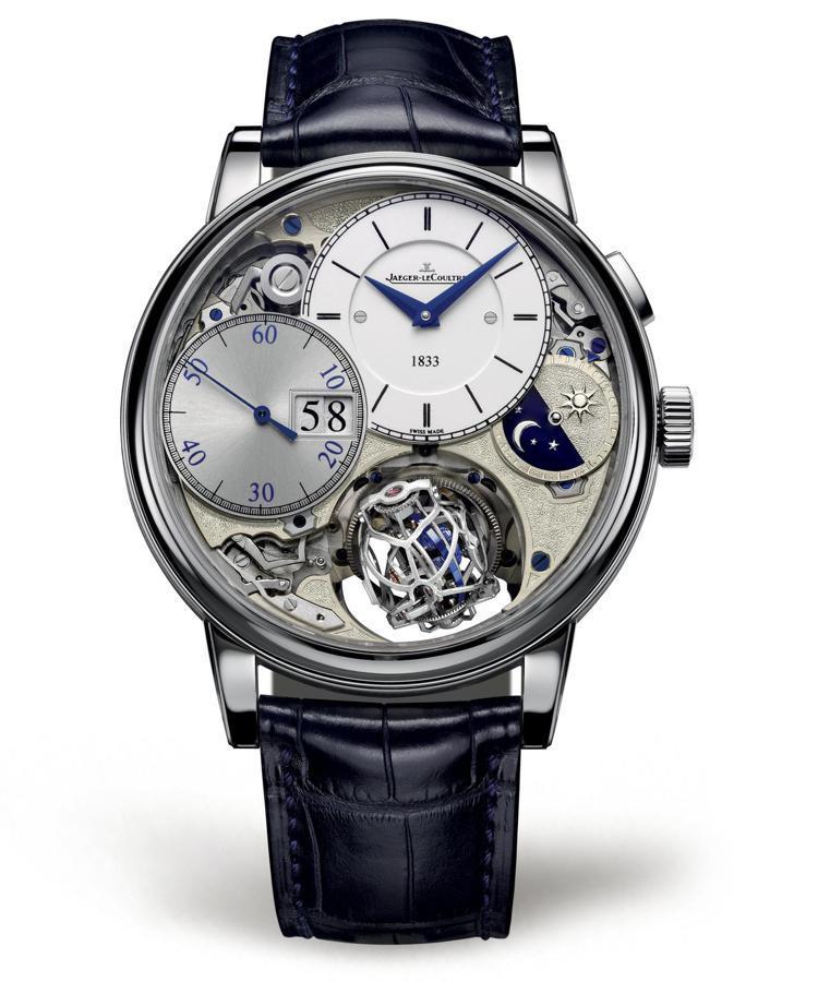 超卓傳統大師系列球型陀飛輪3,180周年紀念版腕表,1,520萬元。圖/積家提供