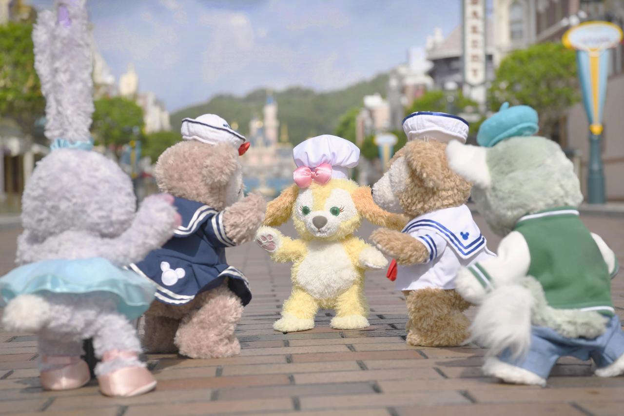 Cookie將於7月3日首次正式在香港迪士尼樂園登場。圖/香港迪士尼提供